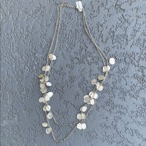 The Limited Silver Chain coin Necklace